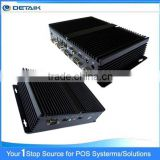 DBOX258 D2550 Dual Core CPU 8 USB 6 COM 2 LAN Windows Mini PC