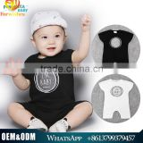 New Arrival Cheap baby bodysuit one pieces boys romper 100 %cotton newborn baby romper