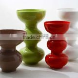Christmas Decoration ceramic pottery vases with hand paint finish