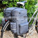 2013 Promotional Practical Bicycle Bag Double Rear Pannier Bag Bike Bag Pannier Bag Double Bag Product Waterproof Bicycle Bag
