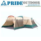 3 Room Luxury Cheap Folding Survival Sleeping Modern Cheap Family Polygon 10 Person Big Camping Tent