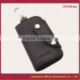 2015 New Commercial Promotional Customized Made Genuine Leather Key Wallet MEYOKW131b