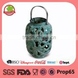 Wholesale New Candle Holder Ceramic Lantern With Tealight                                                                                                         Supplier's Choice
