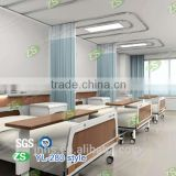 High quality polyester waterproof and flame retardant antibacterial hospital privacy curtain