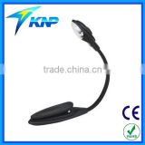Hot Sell 1 LED flexible reading light with clip lamps with clamp                                                                         Quality Choice