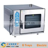 Deck Oven With Steam Professional Baking Ovens Steam 6 Trays Steaming Baking Oven (SY-CV6B SUNRRY)