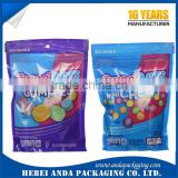 16 years wholesale aluminum foil candy bar packaging zipper bag