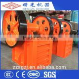 Professional manufacturer small diesel engine jaw crusher