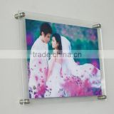 wall mounted acrylic photo frames/acrylic picture frames wall mount/acrylic picture frame                                                                         Quality Choice
