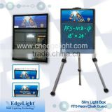 neon led writing board PF5 ABS material frame lighting box