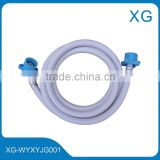PVC washing machine inlet outlet hose/PVC drain hose/washing machine plastic flexible tube/1.5m washing machine hose