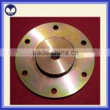 Custom CNC machined auto car spare parts for brake discs