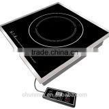 High duty Built-in 3500W commercial wok induction cooker commercial Induction cooktops with 304 stainless steel housing