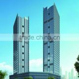 Guangzhou Unitized Curtain Wall with insulated glass