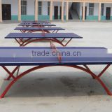 25mm Outdoor Waterproof Ping Pong Table