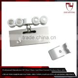Mirror Stainless Steel Sliding Shower Door Roller Brackets
