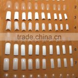 ABS Material Artificial False Nail Tip Fake Nails Art Tips/10size For DIY
