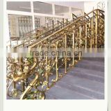 galvanized outdoor metal handrail for steps