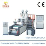 High Quality Stretch Film Making Machine,Coextrusion Double Layer PE Blown Film Extruder