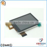 Factory price TFT LCD 2.4' inch 240*320 small bar type tft lcd display with touch panel                                                                         Quality Choice