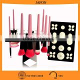 Top Quality Acrylic Folding Makeup Brush Organizer Makeup Brush Drying Rack                                                                         Quality Choice
