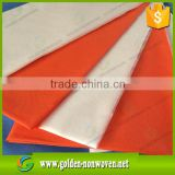 wholesale pp nonwoven tablecloths/virgin polypropylene 45gsm/50gsm table runners/wedding chair cover nonwoven fabric                                                                                                         Supplier's Choice