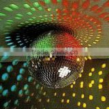 "40"" 100cm giant rotating disco ball fiberglass core with electric motor for DJ lights"