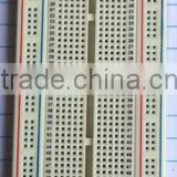 2014 hot sell white ABS metal reed 840tie-point testing breadboard universal printing circuit board