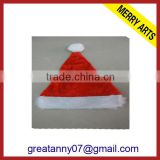 2015 new product christmas bottle hat decoration polar fleece christmas hat with good quality