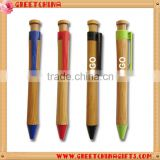 Cheap Custom advertising ballpoint bamboo pen                                                                         Quality Choice