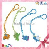 New Products 2015 Innovative Product China Alibaba Zhejiang Factory Customized Wooden Pacifier Baby Clips