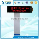 Red color OLED screen16x2 character 6800/8080/I2C/SPI serial interface oled display module