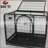 High Quality Custom Made Stainless Steel Dog Cage With Wheels