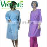 Non woven Disposable Sanua Clothes Kimono with ties