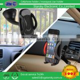 SK231-TFK1# 2IN1 mount kit windshield mount + air vent holder plastic tablet holder for car, car tablet holder for air vent