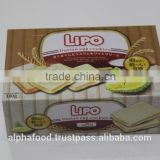 LIPO Durian Delicious cookies - 100g box packing from durian fruit for Bangladesh and Pakistan