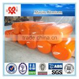 World widely used marine polyurethane foam filled fender floating mooring buoy