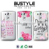 2016 new design made in china soft tpu phone case cover for lg g3 mobile phone accessories for lg g4 beat g4s case