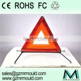 roadway safety led lights warning triangle