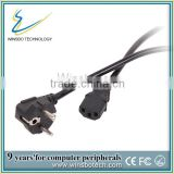 European standard ac power cord, electric power cable