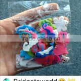 Factory supply DIY Loom Pendants PVC Charms For Your Rubber bands bracelets and Necklace
