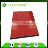 Greenbond high gloss pe coating digital advertising board material