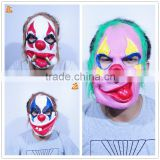 halloween party chucky custom funny face joker mask scary nose realistic cosplay rubber mask anime latex clown mask