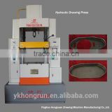 ISO9001 CE Certification Hydraulic Double-Action Drawing Machine 120T for produce aluminum foil products