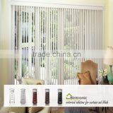 Bintronic Taiwan Two Way Window Shade Motorized Vertical Blinds Electric Vertical Sliding Curtain