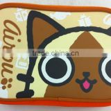 Factory custom cartoon printing lovely small bags,neoprene insalated lunch box bag for kids