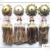 High quality decorative curtain tieback tassel clip/buckle, the new curtain accessory design