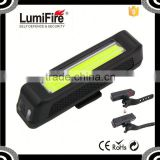 Lumifire S630 Super Bright bicycle Rechargeable LED USB Bike Light COB tail lamp Chinese