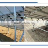 Solar Ground Screw Mounting