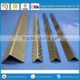 stainless steel slotted angle bar for Construction